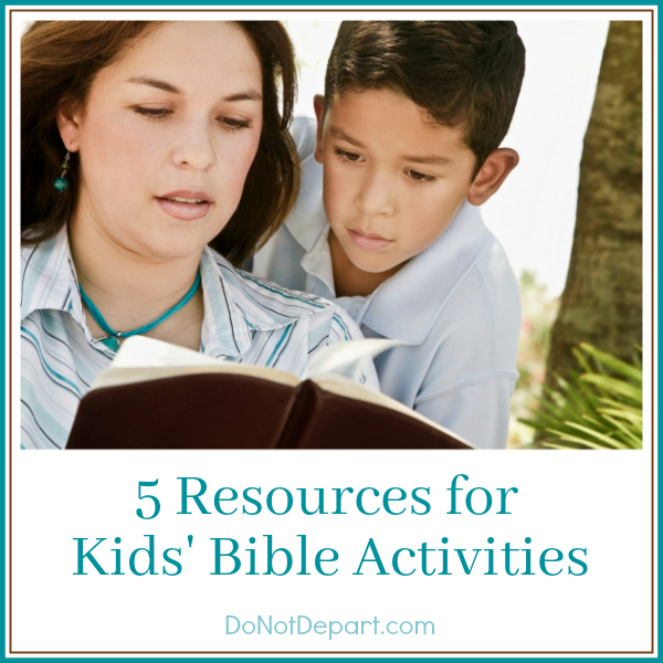 5 Free Resources for Kids' Bible Activities