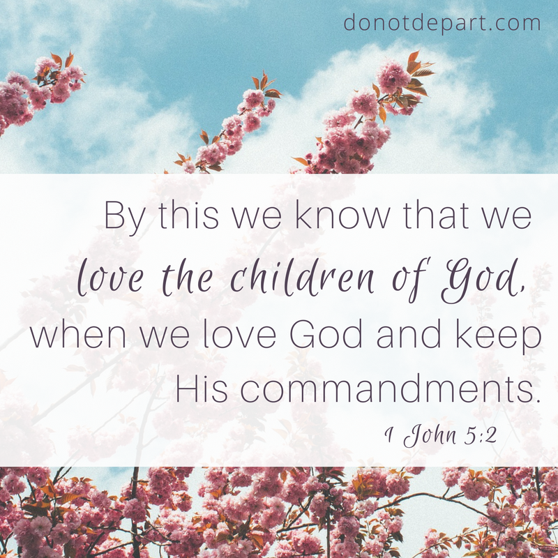 Love the Children of God