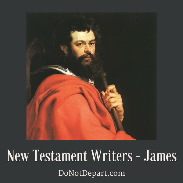 James – Man of Action {New Testament Writers}