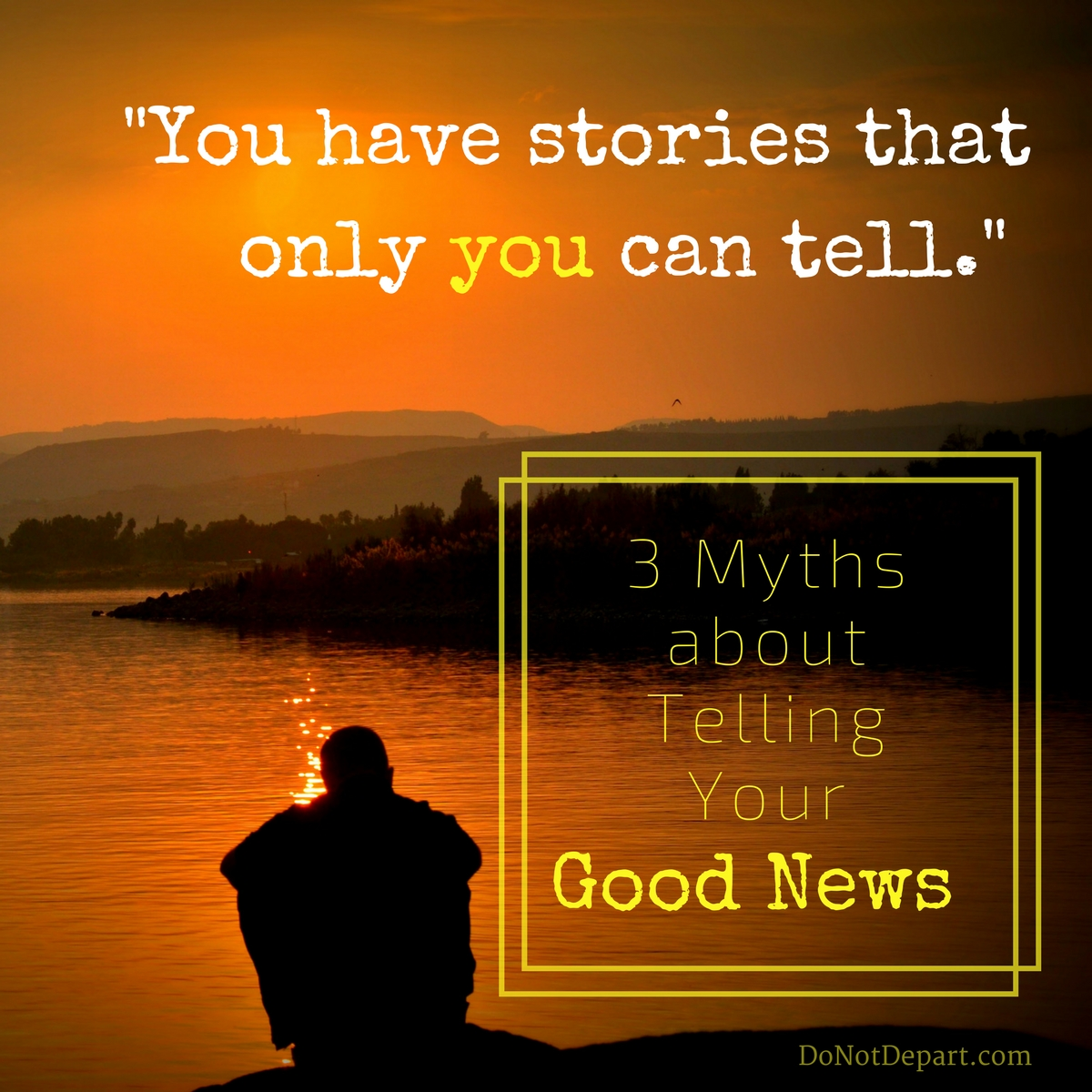 3 Myths about Your Good News – How Luke Overcame Them & You Can Too