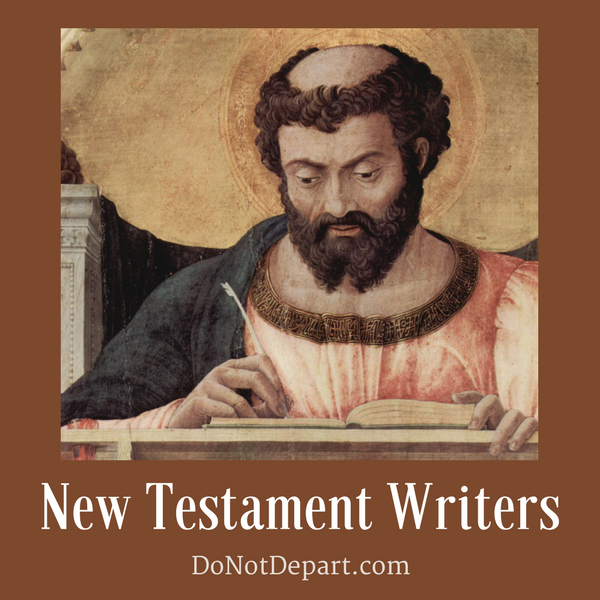 New Testament Writers {Wrap-Up}