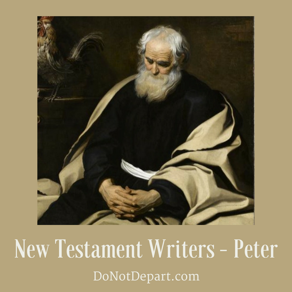 Peter – A Man Transformed {New Testament Writers}