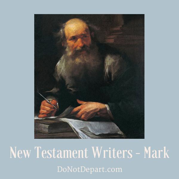 New Testament Writers – Mark