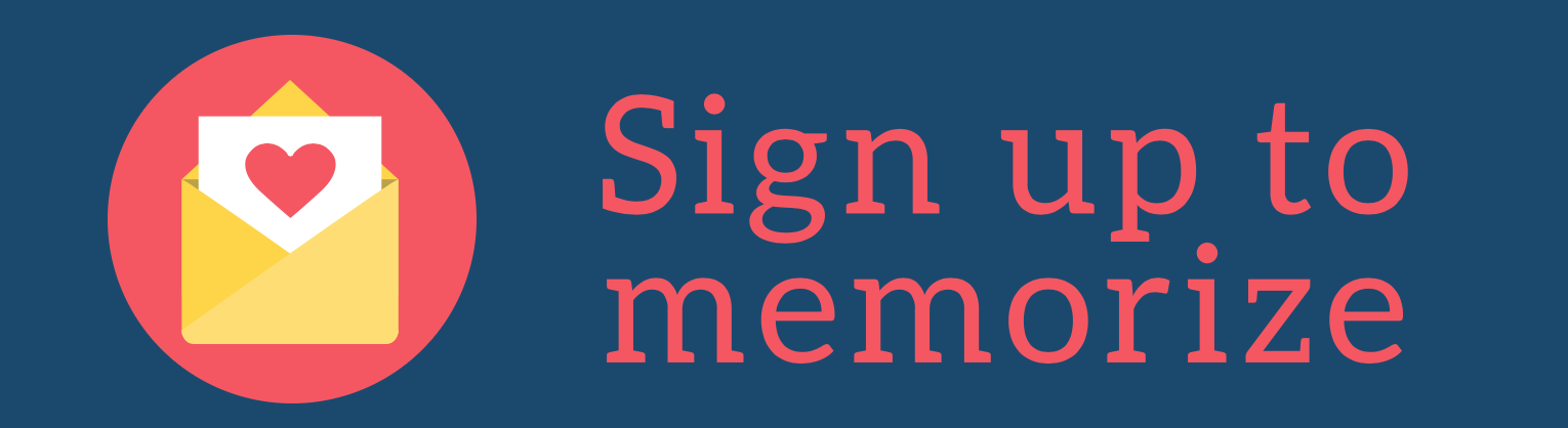 Sign Up to Memorize