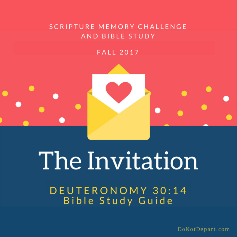 His Word in Our Hearts and Mouths – Deuteronomy 30:14 Study Guide
