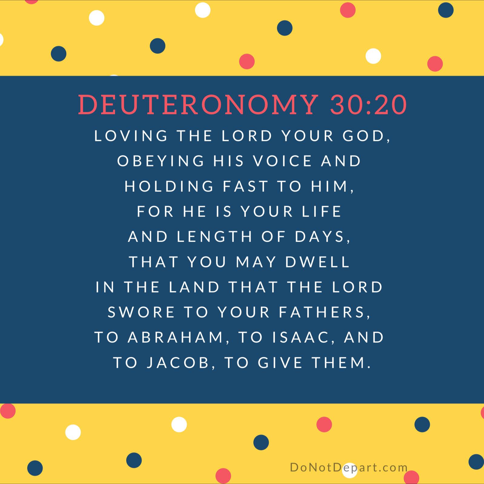 Deuteronomy-30-20