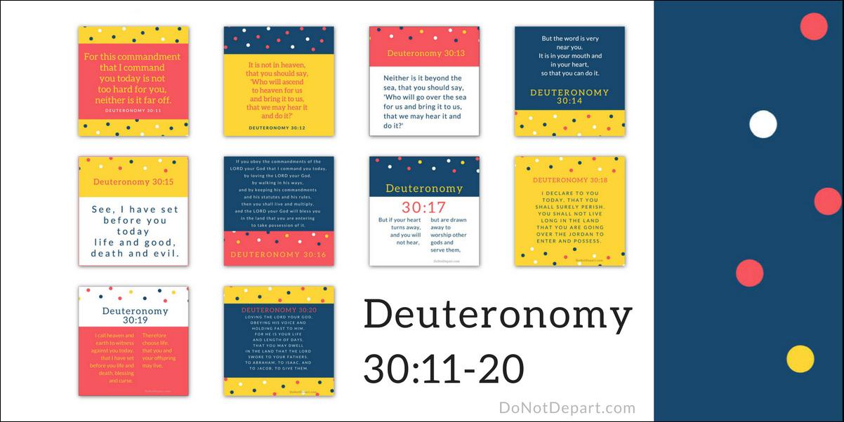 Deuteronomy 30_11-20