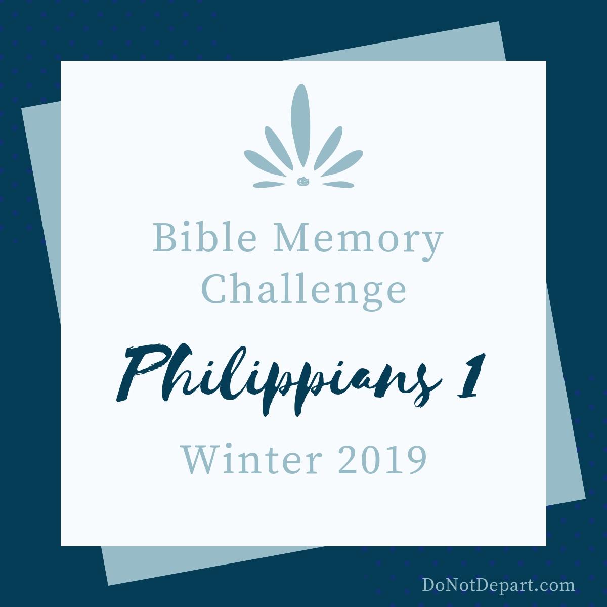 Memorize Philippians 1 button