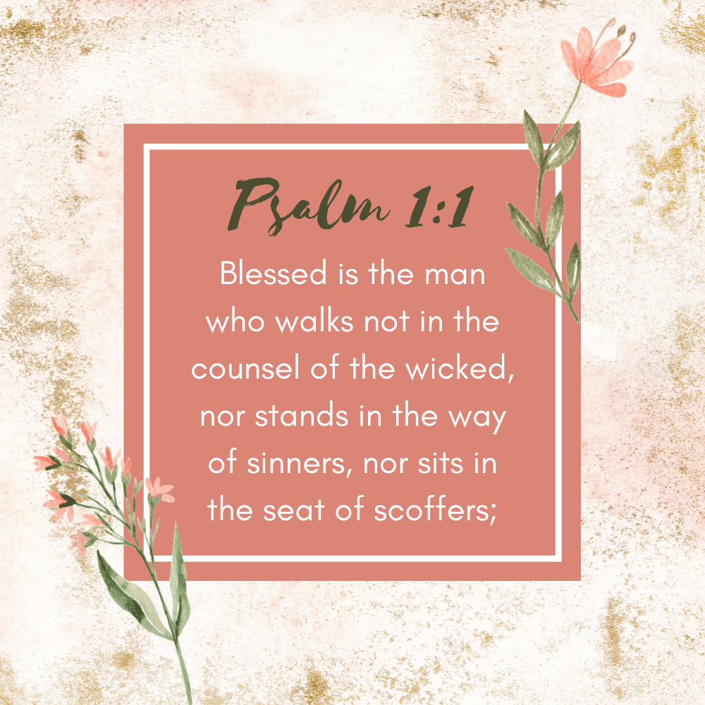 This Person Is Blessed - Is It You? {Psalm 1:1} - Do Not Depart