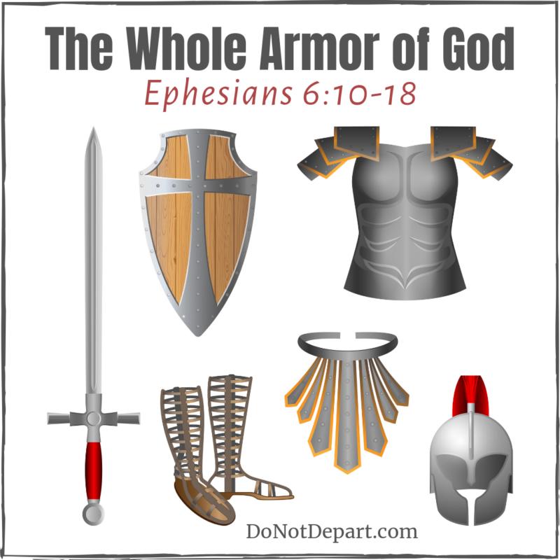 Visual Of The Armor Of God Armor Of God Bible Faith